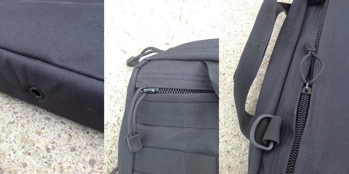 torba, edc, torba na laptop, GFC Tactical, Pals, zamek, molle